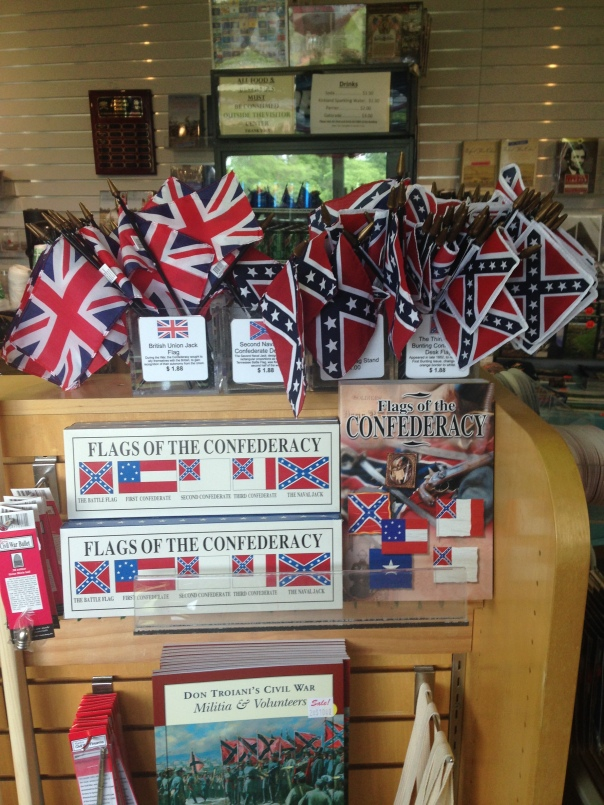 Confederate Flags Antietam Battlefield